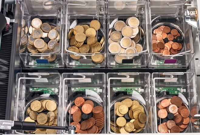Deposito cambio monedas - Cashkeeper