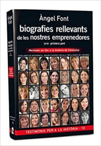Libro Àngel Font: Biografies rellevants de les nostres emprenedores